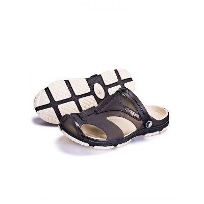 Men  Breathable Summer Platform Beach ShoesMens Slippers<br>Men  Breathable Summer Platform Beach Shoes<br><br>Contents: 1 x Pair of Shoes<br>Materials: EVA, PVC<br>Occasion: Casual, Daily<br>Package Size ( L x W x H ): 31.00 x 21.00 x 11.00 cm / 12.2 x 8.27 x 4.33 inches<br>Package Weights: 0.500kg<br>Seasons: Summer<br>Style: Leisure, Comfortable<br>Type: Slippers