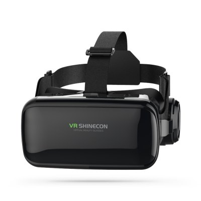 SHINECON SC - G04E 3DVRGlasses Virtual RealityHeadsetVR Headset<br>SHINECON SC - G04E 3DVRGlasses Virtual RealityHeadset<br><br>Brand: SHINECON<br>Features: Gamer-friendly, Lightweight, Novel Experience, Robust Quality, Stylish<br>Focus Adjustment: Yes<br>FOV: 100 Degree<br>FOV Range: 90 - 110 degree<br>Games support: No<br>Interface: 3.5mm audio jack<br>IPD (Interpupillary distance): 60 - 70mm<br>IPD Adjustment: Yes<br>Material: ABS<br>Model: SC - G04E<br>Package Contents: 1 x 3D VR Glasses, 1 x Cleaning Cloth, 1 x English / Chinese User Manual<br>Package size (L x W x H): 21.30 x 10.70 x 23.00 cm / 8.39 x 4.21 x 9.06 inches<br>Package weight: 0.6600 kg<br>Product size (L x W x H): 20.50 x 9.90 x 22.20 cm / 8.07 x 3.9 x 8.74 inches<br>Product weight: 0.4150 kg<br>Refraction Compensation (Degrees): 0 - 600 degree<br>Smartphone Compatibility: 4.7 - 6.0 inch<br>Space for Glasses: Yes<br>VR Glasses Type: VR Glasses