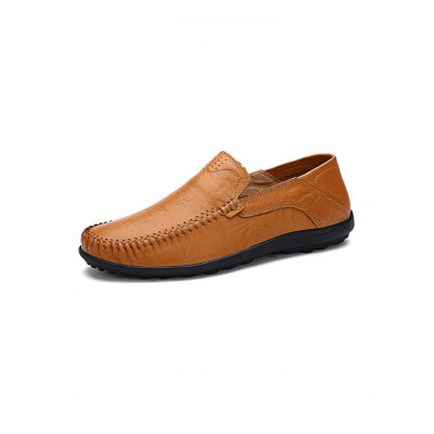 Summer Fashion Cowhide Men Casual Leather ShoesCasual Shoes<br>Summer Fashion Cowhide Men Casual Leather Shoes<br><br>Contents: 1 x Pair of Shoes<br>Materials: Leather<br>Occasion: Casual<br>Package Size ( L x W x H ): 33.00 x 22.00 x 14.00 cm / 12.99 x 8.66 x 5.51 inches<br>Package Weights: 0.830kg<br>Seasons: Autumn,Spring,Summer<br>Style: Leisure, Fashion, Comfortable<br>Type: Casual Shoes