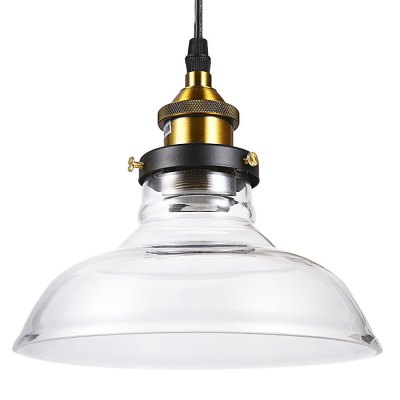 Stem Mounted Pendant Light Fixture with Glass ShadePendant Light<br>Stem Mounted Pendant Light Fixture with Glass Shade<br><br>Bulb Base Type: E27<br>Bulb Included: No<br>Certifications: CE<br>Function: Studio and Exhibition Lighting, Commercial Lighting<br>Package Contents: 1 x Lamp Shade, 1 x Ceiling Plate, 1 x Light Base, 1 x Pack of Accessories<br>Package size (L x W x H): 28.50 x 28.50 x 18.00 cm / 11.22 x 11.22 x 7.09 inches<br>Package weight: 1.1600 kg<br>Product size (L x W x H): 21.00 x 21.00 x 13.00 cm / 8.27 x 8.27 x 5.12 inches<br>Product weight: 0.6000 kg<br>Quantity of Spots: 1<br>Sheathing Material: Glass<br>Style: Trendy, Industrial, Modern/Contemporary, Office/Business<br>Type: Flush Mount, Pendants, Chandeliers<br>Voltage (V): AC 220