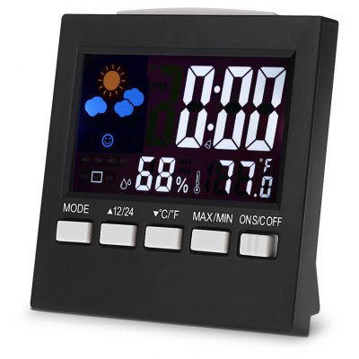Multi-functional LCD Digital Thermometer Hygrometer