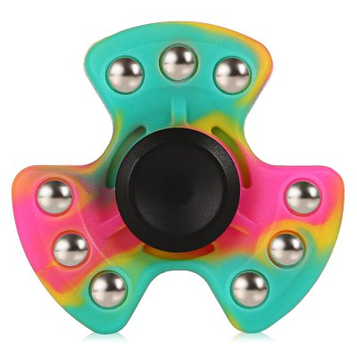 Tri-blade Rainbow Luminous ADHD Fidget SpinnerFidget Spinners<br>Tri-blade Rainbow Luminous ADHD Fidget Spinner<br><br>Color: Colorful<br>Frame material: Silicone<br>Package Contents: 1 x Fidget Spinner<br>Package size (L x W x H): 7.40 x 7.40 x 2.60 cm / 2.91 x 2.91 x 1.02 inches<br>Package weight: 0.0700 kg<br>Product size (L x W x H): 6.40 x 6.40 x 1.60 cm / 2.52 x 2.52 x 0.63 inches<br>Product weight: 0.0550 kg<br>Swing Numbers: Tri-Bar<br>Type: Triple Blade