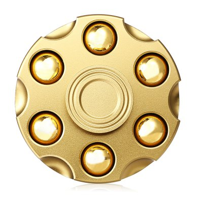 Gatling Magazine Style Brass ADHD Fidget SpinnerFidget Rollers<br>Gatling Magazine Style Brass ADHD Fidget Spinner<br><br>Color: Gold<br>Frame material: Brass<br>Package Contents: 1 x Fidget Spinner, 1 x Box<br>Package size (L x W x H): 7.80 x 7.80 x 2.30 cm / 3.07 x 3.07 x 0.91 inches<br>Package weight: 0.1650 kg<br>Product size (L x W x H): 4.80 x 4.80 x 1.90 cm / 1.89 x 1.89 x 0.75 inches<br>Product weight: 0.1200 kg<br>Type: Cool