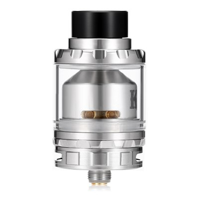 Vandy Vape KYLIN RTARebuildable Atomizers<br>Vandy Vape KYLIN RTA<br><br>Brand: Vandy Vape<br>Material: Stainless Steel, Glass<br>Model: KYLIN<br>Overall Diameter: 23mm<br>Package Contents: 1 x Vandy Vape KYLIN RTA, 1 x 6ml Glass Tank, 1 x 2ml Glass Tank, 1 x English User Manual, 3 x Drip Tip, 1 x Accessory Bag<br>Package size (L x W x H): 10.40 x 7.70 x 4.00 cm / 4.09 x 3.03 x 1.57 inches<br>Package weight: 0.1620 kg<br>Product size (L x W x H): 2.30 x 2.30 x 4.80 cm / 0.91 x 0.91 x 1.89 inches<br>Product weight: 0.0580 kg<br>Rebuildable Atomizer: RBA,RTA<br>Tank Capacity: 2.0ml,6.0ml<br>Thread: 510<br>Type: Rebuildable Tanks, Rebuildable Atomizer
