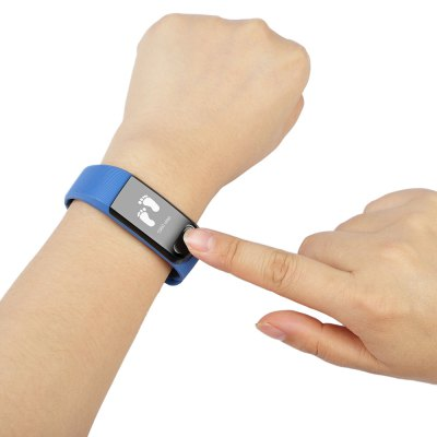Oukitel A19 Bluetooth SmartbandSmart Watches<br>Oukitel A19 Bluetooth Smartband<br><br>Alert type: Vibration<br>Band material: ABS, Silicone<br>Band size: 23 x 2.08 cm<br>Battery  Capacity: 70mAh Polymer li-ion battery<br>Bluetooth calling: Callers name display,Phone call reminder<br>Bluetooth Version: Bluetooth 4.0<br>Brand: OUKITEL<br>Built-in chip type: NRF51822<br>Case material: PC<br>Charging Time: About 2hours<br>Compatability: Android 4.3 or above and iOS or above<br>Compatible OS: IOS, Android<br>Dial size: 5.23 x 2.45 x 1.28 cm<br>Groups of alarm: 2<br>Health tracker: Heart rate monitor,Pedometer,Sedentary reminder,Sleep monitor<br>IP rating: IP65<br>Messaging: Message reminder<br>Notification: Yes<br>Notification type: WhatsApp, Wechat, Facebook, Skype<br>Operating mode: Touch Key<br>Package Contents: 1 x Oukitel A19 Smartband, 1 x Chinese-English Manual<br>Package size (L x W x H): 11.70 x 7.80 x 3.60 cm / 4.61 x 3.07 x 1.42 inches<br>Package weight: 0.0990 kg<br>People: Female table,Male table<br>Product size (L x W x H): 23.00 x 2.45 x 1.28 cm / 9.06 x 0.96 x 0.5 inches<br>Product weight: 0.0250 kg<br>RAM: 32KB<br>ROM: 256K<br>Screen: OLED<br>Screen size: 0.49 inch<br>Shape of the dial: Rectangle<br>Standby time: About 10 days<br>Waterproof: Yes