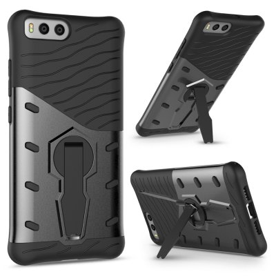 TPU Bumper Case for Xiaomi Mi 6Cases &amp; Leather<br>TPU Bumper Case for Xiaomi Mi 6<br><br>Compatible Model: Mi 6<br>Features: Anti-knock, Back Cover, Bumper Frame, Cases with Stand<br>Mainly Compatible with: Xiaomi<br>Material: TPU, PC<br>Package Contents: 1 x Phone Case<br>Package size (L x W x H): 17.00 x 9.00 x 2.20 cm / 6.69 x 3.54 x 0.87 inches<br>Package weight: 0.0600 kg<br>Product Size(L x W x H): 15.10 x 7.70 x 1.20 cm / 5.94 x 3.03 x 0.47 inches<br>Product weight: 0.0380 kg<br>Style: Modern, Pattern