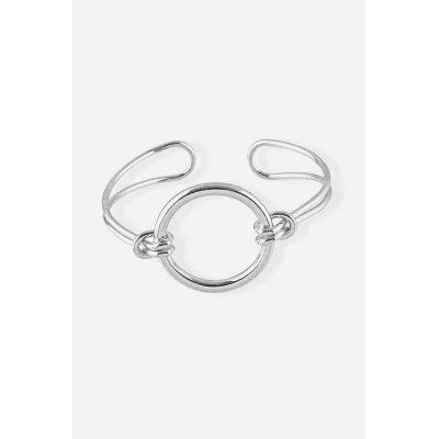 Korean Stylish Round BangleBracelets &amp; Bangles<br>Korean Stylish Round Bangle<br><br>Gender: Woman<br>Jewelry Silhouette: Bangle<br>Material: Alloy<br>Occasions: Casual, Personalized Photo, Performance, Party, Gift<br>Package Contents: 1 x Bracelet, 1 x Storage Box<br>Package size (L x W x H): 8.80 x 8.80 x 2.00 cm / 3.46 x 3.46 x 0.79 inches<br>Package weight: 0.0660 kg<br>Product weight: 0.0190 kg<br>Style: Fashion