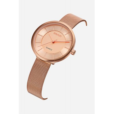 WEIQIN W4844 Quartz WatchWomens Watches<br>WEIQIN W4844 Quartz Watch<br><br>Band material: Steel<br>Band size: 21.7cm x 1.4cm<br>Brand: Weiqin<br>Case material: Alloy<br>Clasp type: Hook buckle<br>Dial size: 3.6cm x 3.6cm x 0.62cm<br>Display type: Analog<br>Movement type: Quartz watch<br>Package Contents: 1 x Watch ( with Package Box )<br>Package size (L x W x H): 9.10 x 9.10 x 6.50 cm / 3.58 x 3.58 x 2.56 inches<br>Package weight: 0.1290 kg<br>Product size (L x W x H): 21.70 x 3.60 x 0.62 cm / 8.54 x 1.42 x 0.24 inches<br>Product weight: 0.0420 kg<br>Shape of the dial: Round<br>Watch color: Rose gold<br>Watch mirror: Mineral glass<br>Watch style: Fashion, Business, Casual, Classic<br>Watches categories: Female table,Women<br>Water resistance : Life water resistant