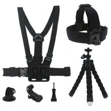 Universal 6 - in - 1 Action Camera Accessory Kit