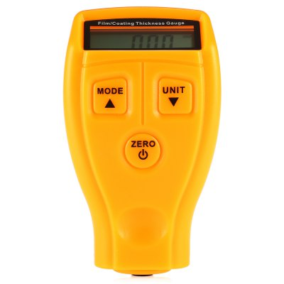 GM200 Film / Coating LCD Screen Thickness GaugeTesters &amp; Detectors<br>GM200 Film / Coating LCD Screen Thickness Gauge<br><br>Battery Type: AAA Battery<br>Measurement Error: + / - 0.03mm<br>Measurement range : 0 - 1.80mm / 0 - 71.0mil<br>Model: GM200<br>Package Contents: 1 x Thickness Gauge, 6 x Film, 1 x Sheet Metal, 1 x English User Manual<br>Package size (L x W x H): 19.50 x 15.00 x 6.00 cm / 7.68 x 5.91 x 2.36 inches<br>Package weight: 0.1320 kg<br>Product size (L x W x H): 10.50 x 6.00 x 3.00 cm / 4.13 x 2.36 x 1.18 inches<br>Product weight: 0.0560 kg<br>Resolution: 0.01mm / 1mil<br>Special function: Thickness Measurement