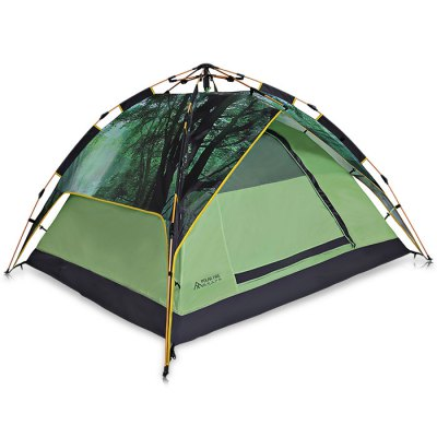 Polar Fire ZPT302 Anti-UV 3 - 4 Persons Auto Camping TentTent<br>Polar Fire ZPT302 Anti-UV 3 - 4 Persons Auto Camping Tent<br><br>Brand: PolarFire<br>Features: Breathable, Double Doors, Quick Open, Waterproof<br>Fits for: 3-4 People<br>Package Content: 1 x Polar Fire ZPT302 Camping Tent, 4 x Rope, 8 x Peg, 1 x Storage Bag<br>Package size: 72.50 x 15.50 x 15.50 cm / 28.54 x 6.1 x 6.1 inches<br>Package weight: 3.6340 kg<br>Product size: 220.00 x 190.00 x 120.00 cm / 86.61 x 74.8 x 47.24 inches<br>Product weight: 3.3100 kg<br>Seasons: Autumn,Spring,Summer,Winter<br>Type: Automatic Tent