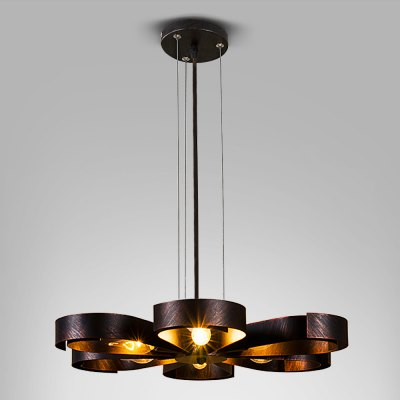 ZG9068 - B American Retro 220V 6 E14 Base Pendant Light