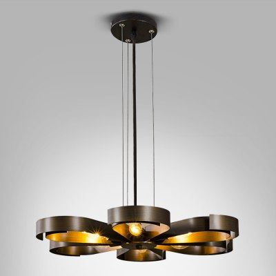 ZG9068 - A American Retro 220V 6 E14 Base Pendant Light