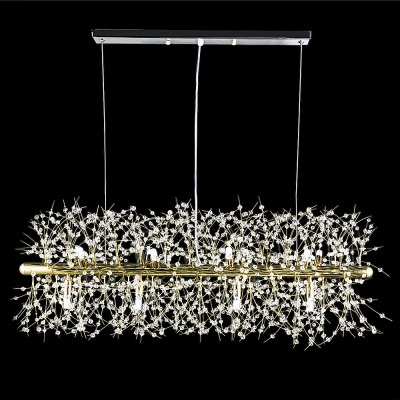 ZG9073 3500LM Rectangular Chandelier Lamp Ceiling LightPendant Light<br>ZG9073 3500LM Rectangular Chandelier Lamp Ceiling Light<br><br>Bulb Base Type: G9<br>Bulb Included: Yes<br>Function: Studio and Exhibition Lighting, Commercial Lighting, Home Lighting<br>Luminous Flux: 3500LM<br>Output Power: 60W<br>Package Contents: 1 x Ceiling Light<br>Package size (L x W x H): 96.00 x 30.00 x 30.00 cm / 37.8 x 11.81 x 11.81 inches<br>Package weight: 4.5200 kg<br>Product weight: 4.0000 kg<br>Quantity of Spots: 12<br>Sheathing Material: Iron<br>Style: Trendy, Office/Business, Industrial, Classic<br>Type: Pendants, Chandeliers<br>Voltage (V): AC 220