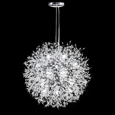 ZG9072 4500LM Firework Ball LED Chandelier Ceiling LightPendant Light<br>ZG9072 4500LM Firework Ball LED Chandelier Ceiling Light<br><br>Bulb Base Type: G9<br>Bulb Included: Yes<br>Function: Studio and Exhibition Lighting, Commercial Lighting, Home Lighting<br>Luminous Flux: 4500LM<br>Output Power: 80W<br>Package Contents: 1 x Ceiling Light<br>Package size (L x W x H): 45.00 x 45.00 x 40.00 cm / 17.72 x 17.72 x 15.75 inches<br>Package weight: 7.0200 kg<br>Product weight: 6.5000 kg<br>Quantity of Spots: 16<br>Sheathing Material: Iron<br>Style: Trendy, Office/Business, Industrial, Classic<br>Type: Pendants, Chandeliers<br>Voltage (V): AC 220