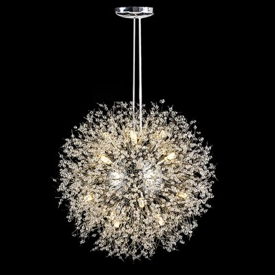 ZG9072 4500LM Firework Chandelier Ball LED Ceiling LightPendant Light<br>ZG9072 4500LM Firework Chandelier Ball LED Ceiling Light<br><br>Bulb Base Type: G9<br>Bulb Included: Yes<br>Luminous Flux: 4500LM<br>Output Power: 80W<br>Package Contents: 1 x Ceiling Light<br>Package size (L x W x H): 45.00 x 45.00 x 40.00 cm / 17.72 x 17.72 x 15.75 inches<br>Package weight: 7.0200 kg<br>Product weight: 6.5000 kg<br>Quantity of Spots: 16<br>Sheathing Material: Iron<br>Style: Trendy, Office/Business, Industrial, Classic<br>Type: Pendants, Chandeliers<br>Voltage (V): AC110