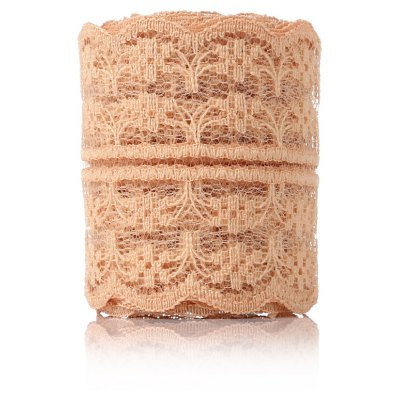 3m Natural Elastic Craft Ribbon Roll Lace