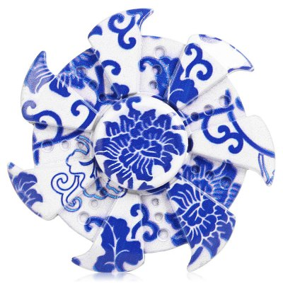 7-blade Blue-and-white Porcelain Style Zinc Alloy Fidget SpinnerFidget Spinners<br>7-blade Blue-and-white Porcelain Style Zinc Alloy Fidget Spinner<br><br>Frame material: Zinc Alloy<br>Package Contents: 1 x Fidget Spinner, 1 x Box<br>Package size (L x W x H): 9.00 x 9.00 x 2.00 cm / 3.54 x 3.54 x 0.79 inches<br>Package weight: 0.1450 kg<br>Product size (L x W x H): 6.10 x 6.10 x 1.30 cm / 2.4 x 2.4 x 0.51 inches<br>Product weight: 0.0880 kg