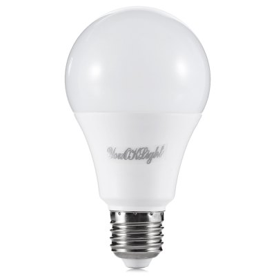 YouOKLight E27 12W Ball BulbGlobe bulbs<br>YouOKLight E27 12W Ball Bulb<br><br>Available Light Color: Cool White<br>Features: Energy Saving<br>Function: Commercial Lighting, Home Lighting<br>Holder: E27<br>Package Contents: 4 x YouOKLight BallBulb<br>Package size (L x W x H): 8.00 x 8.00 x 12.50 cm / 3.15 x 3.15 x 4.92 inches<br>Package weight: 0.1500 kg<br>Product weight: 0.1050 kg<br>Sheathing Material: Aluminum, Plastic<br>Type: Ball Bulbs<br>Voltage (V): AC 85-265