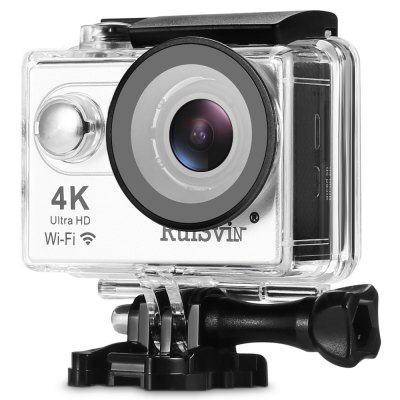 RUISVIN H9RS 4K UHD WiFi Action Camera Allwinner V3 Chipset