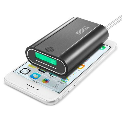 TOMO 18650 Battery ChargerPower Banks<br>TOMO 18650 Battery Charger<br><br>Battery Type: 18650 Battery<br>Brand: Tomo<br>Connection Type: Micro USB, Two USB Output Interface<br>Material: ABS<br>Output: 5V 1A, 5V 2A<br>Package Contents: 1 x Battery Charger Power Bank<br>Package size (L x W x H): 11.00 x 7.50 x 3.70 cm / 4.33 x 2.95 x 1.46 inches<br>Package weight: 0.1000 kg<br>Product size (L x W x H): 10.00 x 6.50 x 2.70 cm / 3.94 x 2.56 x 1.06 inches<br>Product weight: 0.0700 kg<br>Type: Backup Power Banks