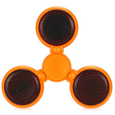 Bluetooth 4.0 Speaker Multi-color LED Fidget SpinnerFidget Spinners<br>Bluetooth 4.0 Speaker Multi-color LED Fidget Spinner<br><br>Color: Orange<br>Features: LED Light<br>Frame material: Plastic<br>Package Contents: 1 x Fidget Spinner<br>Package size (L x W x H): 10.00 x 11.50 x 1.60 cm / 3.94 x 4.53 x 0.63 inches<br>Package weight: 0.0540 kg<br>Product size (L x W x H): 7.80 x 7.80 x 1.40 cm / 3.07 x 3.07 x 0.55 inches<br>Product weight: 0.0300 kg<br>Swing Numbers: Tri-Bar<br>Type: Triple Blade, Cool
