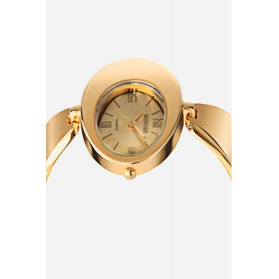 WEIQIN W5034 Quartz WatchWomens Watches<br>WEIQIN W5034 Quartz Watch<br><br>Band material: Steel<br>Band size: 14.5cm x 2.5cm<br>Brand: Weiqin<br>Case material: Alloy<br>Clasp type: Jewelry clasp<br>Dial size: 4.75cm x 3.7cm x 0.76cm<br>Display type: Analog<br>Movement type: Quartz watch<br>Package Contents: 1 x Watch ( with Package Box )<br>Package size (L x W x H): 9.10 x 9.10 x 6.50 cm / 3.58 x 3.58 x 2.56 inches<br>Package weight: 0.1570 kg<br>Product size (L x W x H): 14.50 x 4.75 x 0.76 cm / 5.71 x 1.87 x 0.3 inches<br>Product weight: 0.0700 kg<br>Shape of the dial: Round<br>Watch color: Gold<br>Watch mirror: Mineral glass<br>Watch style: Business, Bracelet Style, Casual, Cool, Fashion<br>Watches categories: Female table,Women<br>Water resistance : Life water resistant
