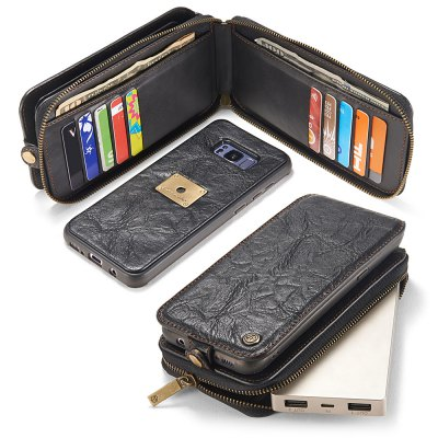 CaseMe PU Wallet Phone CoverSamsung S Series<br>CaseMe PU Wallet Phone Cover<br><br>Brand: CaseMe<br>Compatible with: Samsung Galaxy S8<br>Features: Anti-knock, Back Cover, Full Body Cases, With Credit Card Holder<br>Material: PU Leather<br>Package Contents: 1 x Phone Case<br>Package size (L x W x H): 18.00 x 9.00 x 4.80 cm / 7.09 x 3.54 x 1.89 inches<br>Package weight: 0.2420 kg<br>Product size (L x W x H): 16.00 x 7.70 x 3.80 cm / 6.3 x 3.03 x 1.5 inches<br>Product weight: 0.2020 kg<br>Style: Special Design, Cool