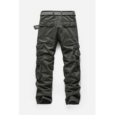 Men Multiple Pocket Cargo PantsMens Pants<br>Men Multiple Pocket Cargo Pants<br><br>Material: Cotton, Polyester<br>Package Contents: 1 x Pair of Pants<br>Package size: 40.00 x 34.00 x 2.00 cm / 15.75 x 13.39 x 0.79 inches<br>Package weight: 0.7300 kg<br>Product weight: 0.6800 kg