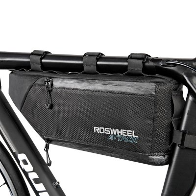 ROSWHEEL 121371 Water-resistant 4L Bike Triangular BagBike Bags<br>ROSWHEEL 121371 Water-resistant 4L Bike Triangular Bag<br><br>Brand: Roswheel<br>Color: Black<br>Emplacement: Front Tube<br>For: Unisex<br>Material: TPU, Nylon<br>Package Contents: 1 x ROSWHEEL 121371 Bike Triangular Bag<br>Package Dimension: 36.50 x 9.00 x 16.00 cm / 14.37 x 3.54 x 6.3 inches<br>Package weight: 0.3900 kg<br>Product Dimension: 35.50 x 7.00 x 14.00 cm / 13.98 x 2.76 x 5.51 inches<br>Product weight: 0.3320 kg<br>Suitable for: Touring Bicycle, Road Bike, Mountain Bicycle, Electric Bicycle