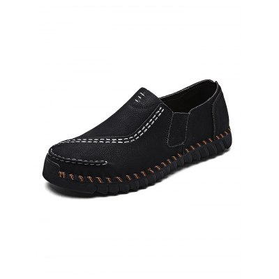 Retro Fashion Microfiber Men Slip-on Casual ShoesCasual Shoes<br>Retro Fashion Microfiber Men Slip-on Casual Shoes<br><br>Contents: 1 x Pair of Shoes<br>Materials: Microfiber, Rubber<br>Occasion: Casual<br>Package Size ( L x W x H ): 33.00 x 22.00 x 11.00 cm / 12.99 x 8.66 x 4.33 inches<br>Package Weights: 0.920kg<br>Seasons: Autumn,Spring,Summer<br>Style: Leisure, Fashion, Comfortable<br>Type: Casual Shoes