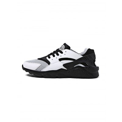 Outdoor Sports Mesh Lace up Men Running ShoesCasual Shoes<br>Outdoor Sports Mesh Lace up Men Running Shoes<br><br>Closure Type: Lace-Up<br>Features: Anti-slip, Breathable<br>Package Contents: 1 x Pair of Shoes<br>Package size: 30.00 x 18.00 x 12.00 cm / 11.81 x 7.09 x 4.72 inches<br>Package weight: 0.7300 kg<br>Product weight: 0.5600 kg<br>Season: Autumn, Spring, Summer<br>Sole Material: Rubber