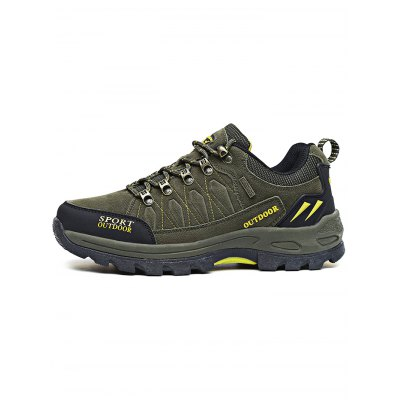 Outdoor Sports Lace Up Climing Hiking Men ShoesHiking Shoes<br>Outdoor Sports Lace Up Climing Hiking Men Shoes<br><br>Contents: 1 x Pair of Shoes<br>Materials: Rubber<br>Occasion: Casual<br>Package Size ( L x W x H ): 37.00 x 23.00 x 16.00 cm / 14.57 x 9.06 x 6.3 inches<br>Package Weights: 1.270kg<br>Seasons: Autumn,Spring,Summer<br>Style: Comfortable<br>Type: Hiking Shoes