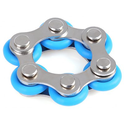 Bike Chain Link Star Fidget Toy for Autism ADD ADHD Stress