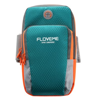 FLOVEME Sports Phone BagCases &amp; Leather<br>FLOVEME Sports Phone Bag<br><br>Brand: FLOVEME<br>Features: Sports and Outdoors, Sports Case<br>Material: Nylon<br>Package Contents: 1 x Phone Bag<br>Package size (L x W x H): 19.00 x 11.00 x 13.00 cm / 7.48 x 4.33 x 5.12 inches<br>Package weight: 0.1000 kg<br>Product size (L x W x H): 18.00 x 10.00 x 12.00 cm / 7.09 x 3.94 x 4.72 inches<br>Product weight: 0.0800 kg<br>Style: Modern