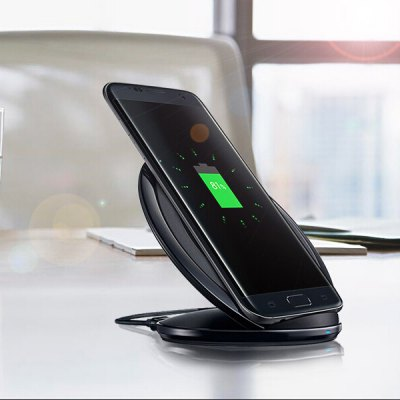 Qi Standard Wireless Charger universal qi wireless charger for cellphone black