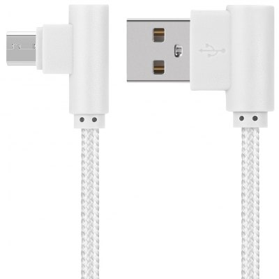 Portable L Shape Micro USB Cable