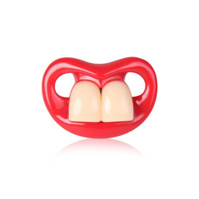 Big Teeth Shaped Baby Soother Pacifier