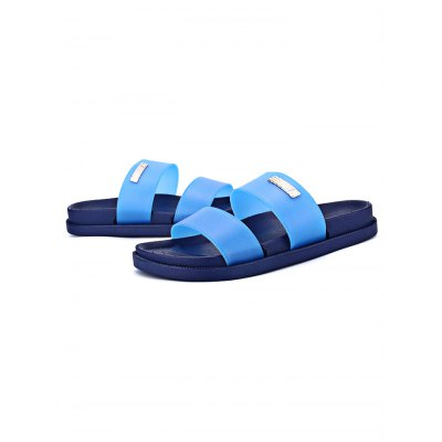 Men Summer Outdoor  Comfortable SlippersMens Slippers<br>Men Summer Outdoor  Comfortable Slippers<br><br>Contents: 1 x Pair of Shoes<br>Materials: Rubber<br>Occasion: Casual, Daily, Dress<br>Package Size ( L x W x H ): 31.00 x 11.00 x 9.50 cm / 12.2 x 4.33 x 3.74 inches<br>Package Weights: 0.33kg<br>Seasons: Summer<br>Style: Leisure, Fashion, Comfortable<br>Type: Slippers
