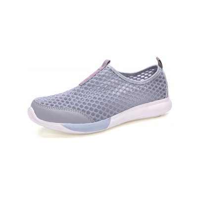 Outdoor Breathable Mesh Men ShoesCasual Shoes<br>Outdoor Breathable Mesh Men Shoes<br><br>Contents: 1 x Pair of Shoes<br>Materials: Mesh, Rubber<br>Occasion: Casual, Daily<br>Package Size ( L x W x H ): 31.00 x 18.50 x 11.00 cm / 12.2 x 7.28 x 4.33 inches<br>Package Weights: 0.58kg<br>Seasons: Summer<br>Style: Leisure, Fashion, Comfortable<br>Type: Casual Shoes
