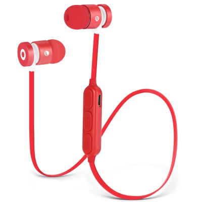 W1 Magnetic Necklace Bluetooth Sport Earbuds