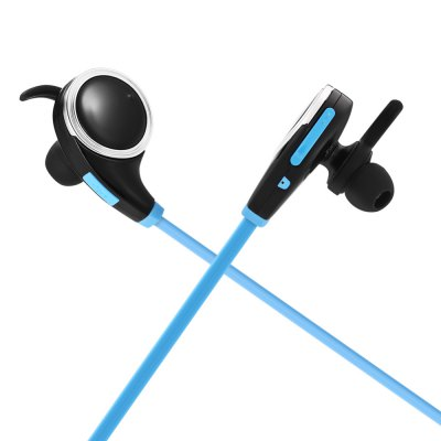 BE - 1003 Wireless Bluetooth Sports EarbudsEarbud Headphones<br>BE - 1003 Wireless Bluetooth Sports Earbuds<br><br>Application: Running, Sport<br>Bluetooth: Yes<br>Bluetooth distance: W/O obstacles 10m<br>Bluetooth mode: Hands free<br>Bluetooth protocol: A2DP,AVRCP,HFP,HSP<br>Bluetooth Version: V4.0<br>Cable Length (m): 0.6m<br>Charging Time.: 1.5H<br>Compatible with: iPhone, Mobile phone, iPod<br>Connecting interface: Micro USB<br>Connectivity: Wireless<br>Frequency response: 20-20000Hz<br>Function: Noise Cancelling, Answering Phone, Bluetooth, Voice Prompt, Song Switching, Microphone, Multi connection function<br>Impedance: 16ohms±15 percent<br>Language: English<br>Material: ABS, TPE<br>Model: BE - 1003<br>Music Time: More Than 8H<br>Package Contents: 1 x Sports Earbuds, 1 x English Manual, 2 x Pair of Standby Earbud Tips ( Medium and Small Size ), 1 x Pair of Ear Hook<br>Package size (L x W x H): 9.30 x 7.20 x 3.50 cm / 3.66 x 2.83 x 1.38 inches<br>Package weight: 0.0600 kg<br>Product size (L x W x H): 4.00 x 2.40 x 3.20 cm / 1.57 x 0.94 x 1.26 inches<br>Product weight: 0.0160 kg<br>Sensitivity: 98dB<br>Standby time: More Than 14 Days<br>Talk time: More Than 8H<br>Type: In-Ear<br>Wearing type: In-ear with ear hook