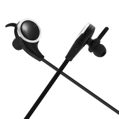 BE - 1003 Wireless Bluetooth Sports EarbudsEarbud Headphones<br>BE - 1003 Wireless Bluetooth Sports Earbuds<br><br>Application: Running, Sport<br>Bluetooth: Yes<br>Bluetooth distance: W/O obstacles 10m<br>Bluetooth mode: Hands free<br>Bluetooth protocol: A2DP,AVRCP,HFP,HSP<br>Bluetooth Version: V4.0<br>Cable Length (m): 0.6m<br>Charging Time.: 1.5H<br>Compatible with: iPhone, Mobile phone, iPod<br>Connecting interface: Micro USB<br>Connectivity: Wireless<br>Frequency response: 20-20000Hz<br>Function: Noise Cancelling, Answering Phone, Bluetooth, Voice Prompt, Song Switching, Microphone, Multi connection function<br>Impedance: 16ohms±15 percent<br>Language: English<br>Material: ABS, TPE<br>Model: BE - 1003<br>Music Time: More Than 8H<br>Package Contents: 1 x Sports Earbuds, 1 x English Manual, 2 x Pair of Standby Earbud Tips ( Medium and Small Size ), 1 x Pair of Ear Hook<br>Package size (L x W x H): 10.50 x 8.50 x 5.00 cm / 4.13 x 3.35 x 1.97 inches<br>Package weight: 0.0730 kg<br>Product size (L x W x H): 4.00 x 2.40 x 3.20 cm / 1.57 x 0.94 x 1.26 inches<br>Product weight: 0.0170 kg<br>Sensitivity: 98dB<br>Standby time: More Than 14 Days<br>Talk time: More Than 8H<br>Type: In-Ear<br>Wearing type: In-ear with ear hook