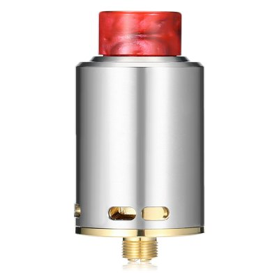 YSTAR Legend RDARebuildable Atomizers<br>YSTAR Legend RDA<br><br>Material: Stainless Steel<br>Overall Diameter: 24mm<br>Package Contents: 1 x YSTAR Legend RDA, 1 x Screwdriver, 3 x Insulated Ring, 4 x Screw, 1 x English User Manual<br>Package size (L x W x H): 6.10 x 9.10 x 3.10 cm / 2.4 x 3.58 x 1.22 inches<br>Package weight: 0.1090 kg<br>Product size (L x W x H): 4.50 x 2.40 x 2.40 cm / 1.77 x 0.94 x 0.94 inches<br>Product weight: 0.0590 kg<br>Thread: 510<br>Type: Rebuildable Drippers, Rebuildable Atomizer