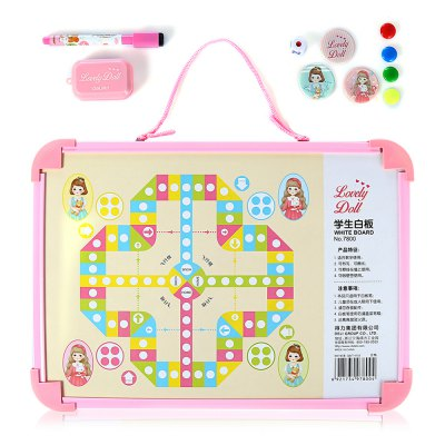 Deli 7800 Kids Magic Draw Sketch Tablet Board ToySchool Supplies<br>Deli 7800 Kids Magic Draw Sketch Tablet Board Toy<br><br>Brand: Deli<br>Features: Magic<br>Model: 7800<br>Package Contents: 1 x Deli 7800 Tablet Board, 1 x Pen, 1 x Blackboard Eraser, 3 x Big Magnetic Nail, 4 x Small Magnetic Nail, 1 x Dice<br>Package size (L x W x H): 36.00 x 25.50 x 2.50 cm / 14.17 x 10.04 x 0.98 inches<br>Package weight: 0.3100 kg<br>Product size (L x W x H): 35.00 x 24.50 x 1.50 cm / 13.78 x 9.65 x 0.59 inches<br>Product weight: 0.2870 kg