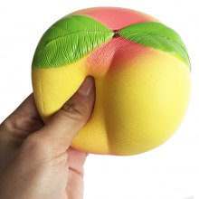 10CM Slow Rising Peach Squeezing Cream Stress Release Toy