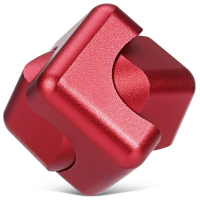 High-speed CNC Carved Magic Fidget Cube Stress Reliever Toy