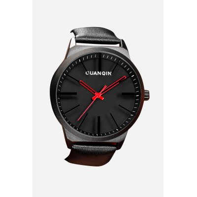 GUANQIN GS19073 Fashion Men Quartz WatchMens Watches<br>GUANQIN GS19073 Fashion Men Quartz Watch<br><br>Available Color: Black,Gray,White<br>Band material: Genuine Leather<br>Band size: 20.50 x 2.20 cm / 8.07 x 0.87 inches<br>Brand: GUANQIN<br>Case material: Stainless Steel<br>Clasp type: Pin buckle<br>Dial size: 4.20 x 4.20 x 1.10 cm / 1.65 x 1.65 x 0.43 inches<br>Display type: Analog<br>Movement type: Quartz watch<br>Package Contents: 1 x Watch, 1 x Box<br>Package size (L x W x H): 14.90 x 9.40 x 2.80 cm / 5.87 x 3.7 x 1.1 inches<br>Package weight: 0.1630 kg<br>Product size (L x W x H): 20.50 x 4.20 x 1.10 cm / 8.07 x 1.65 x 0.43 inches<br>Product weight: 0.0780 kg<br>Shape of the dial: Round<br>Watch style: Fashion, Casual<br>Watches categories: Male table<br>Water resistance : Life water resistant