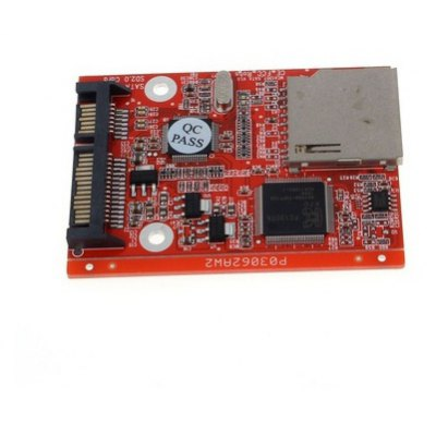 SD to SATA HDD Secure Digital Converter Card Adapter