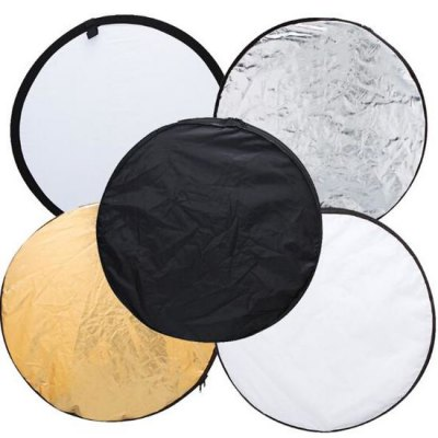 5 in 1 Collapsible Light Round Photography